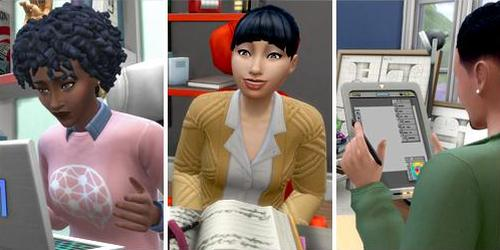 Freelancer Career in The Sims 4