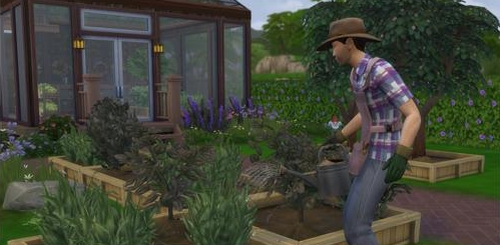 Play as a Gardener in The Sims 4 Seasons Expansion Pack