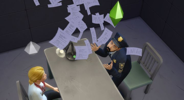 Playing bad cop while interrogating a suspect