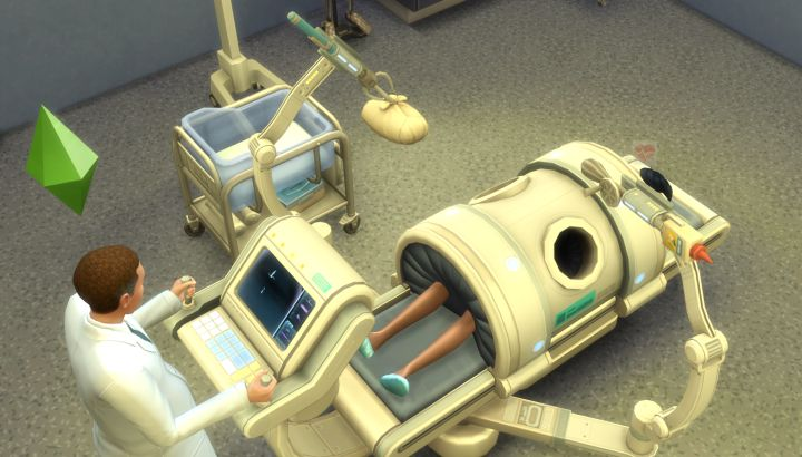 Delivering a Sim Baby in The Sims 4