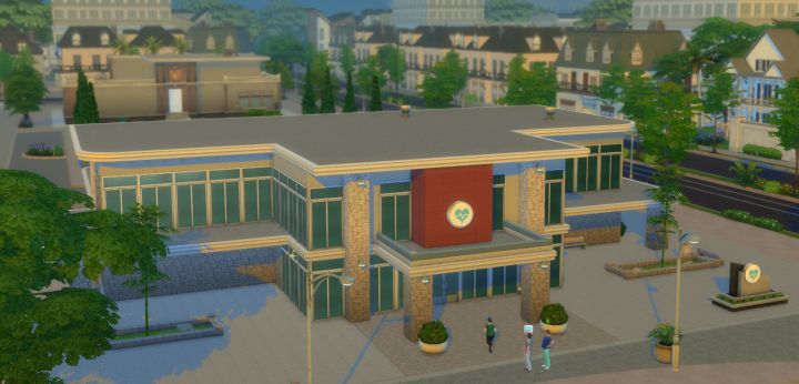 Sim Hospital in The Sims 4 Get to Work