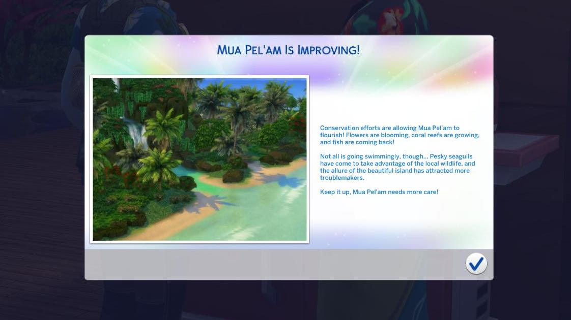 The Sims 4 Island Living: