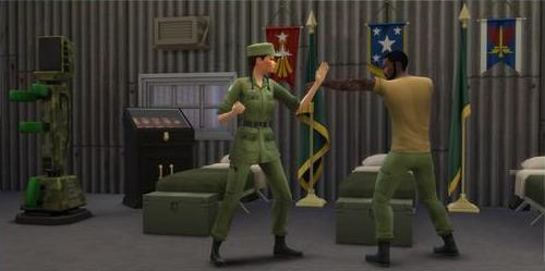The Sims 4 StrangerVille Military Career