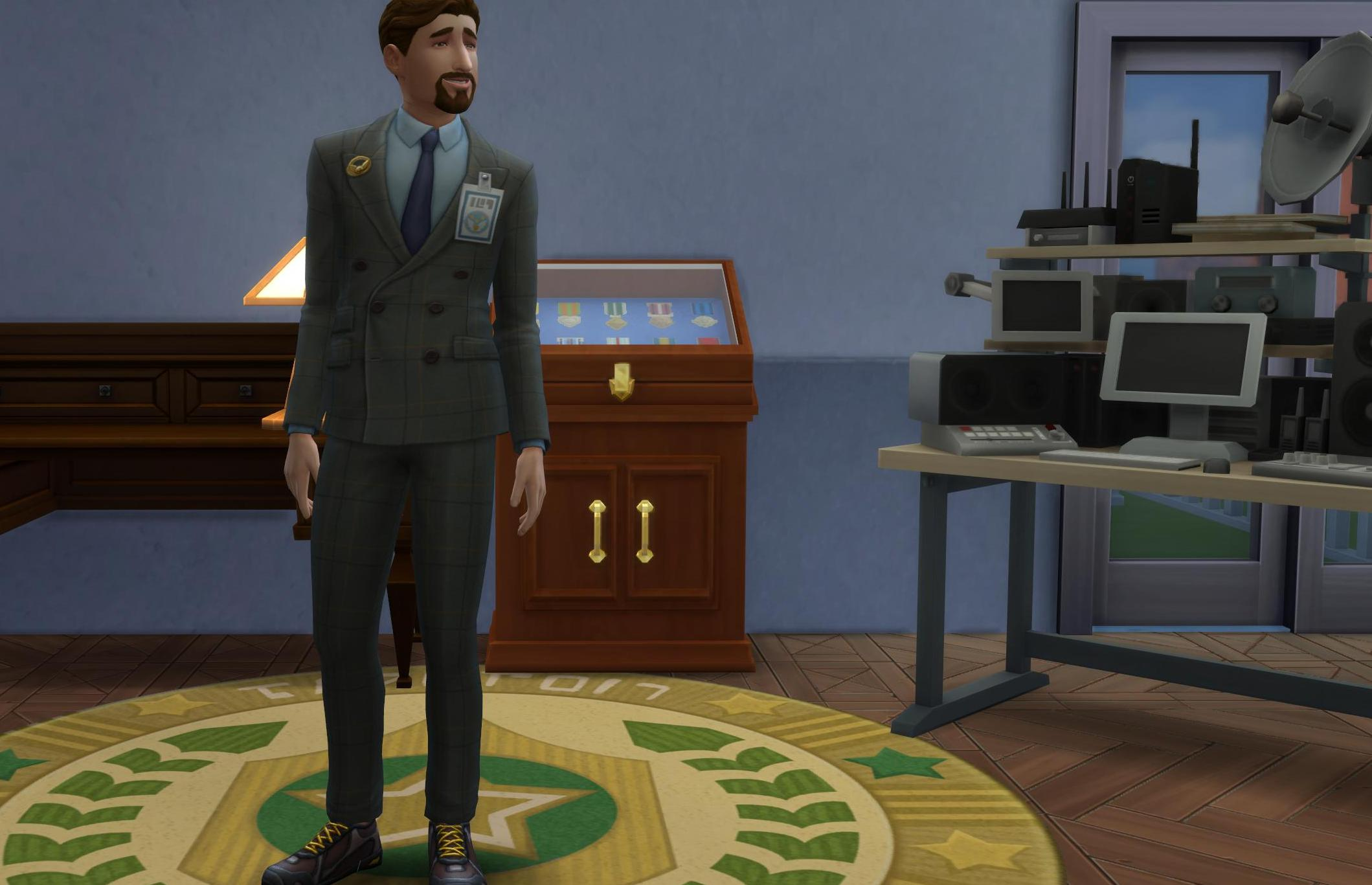Military Covert Operator Rewards in The Sims 4 StrangerVille Game Pack