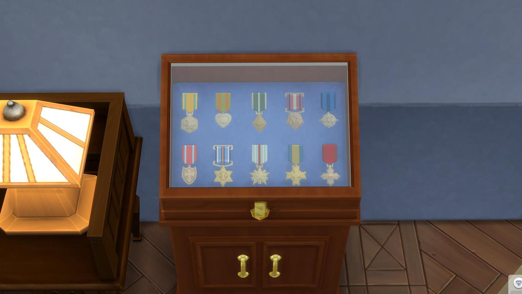 Military Medals in The Sims 4 StrangerVille Game Pack