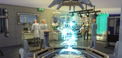 Play the Scientist Career in The Sims 4 Get to Work Expansion Pack