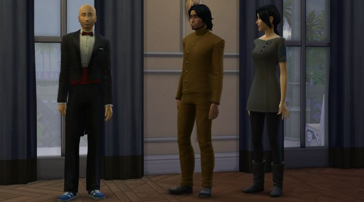 Sims 4 Villain and Diamond Agent Uniforms