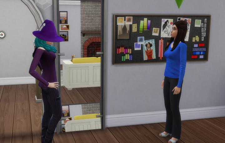 The Sims 4's Styist can start trends and gets this fashion board