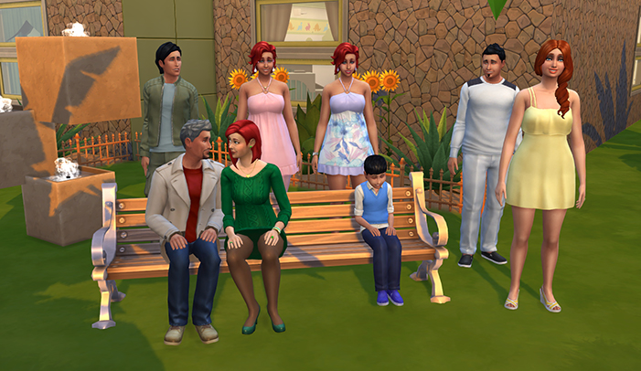 The Immortal Dynasty Challenge for The Sims 4