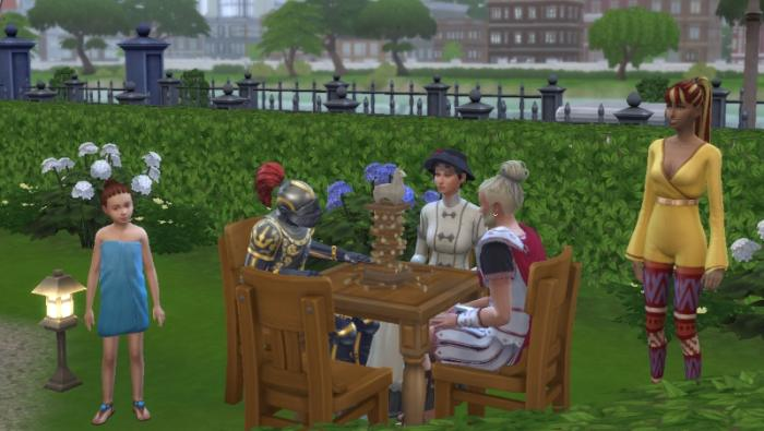 The SimTech Dynasty Challenge for The Sims 4