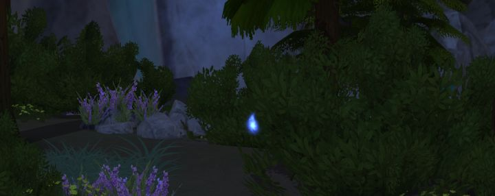 Will-o-Wisp in Sims 4 Outdoor Retreat