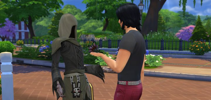 Sims 4 grim reaper dating quotes