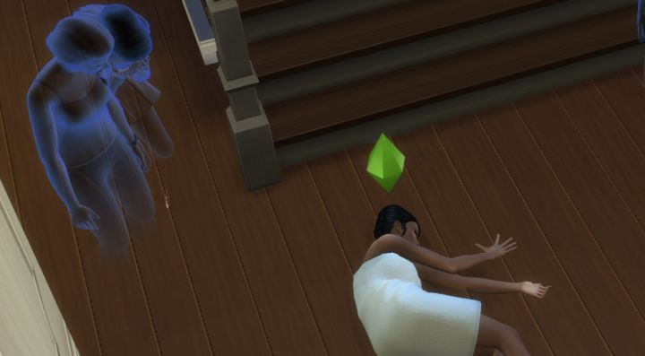 Death by Sauna in The Sims 4 Spa Day