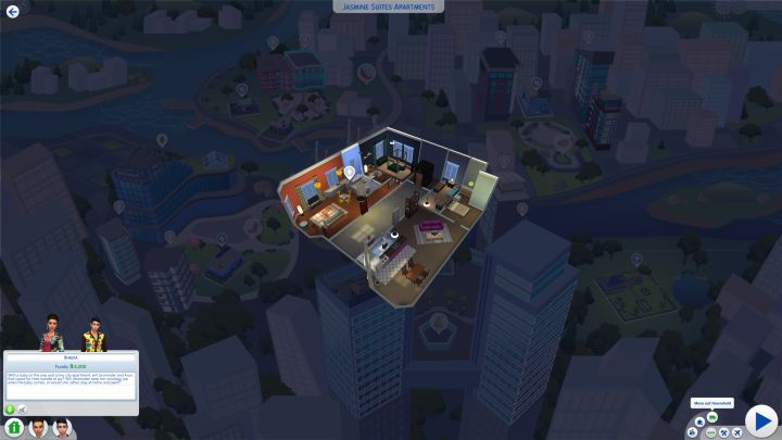 How to move out Sims in The Sims 4 City Living