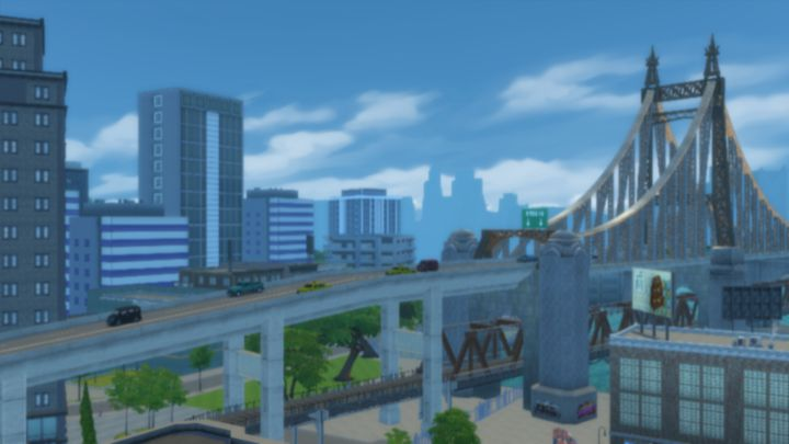 The City of San Myshuno in the City Living DLC
