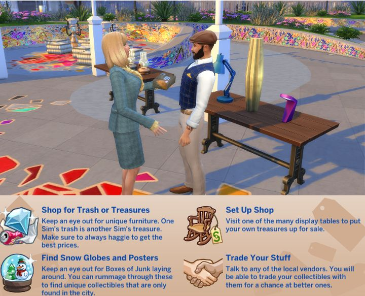 The Sims 4 Flea Market Festival
