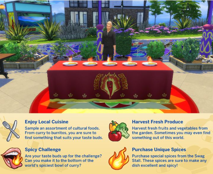 The Sims 4 Spice Festival