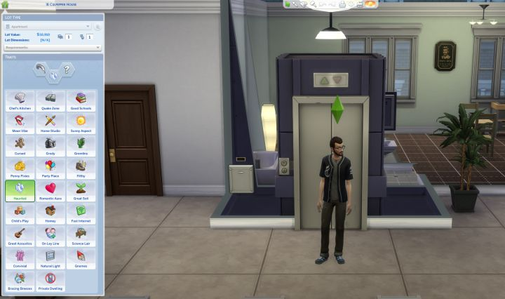 How to Change Lot Traits in The Sims 4 City Living Expansion Pack