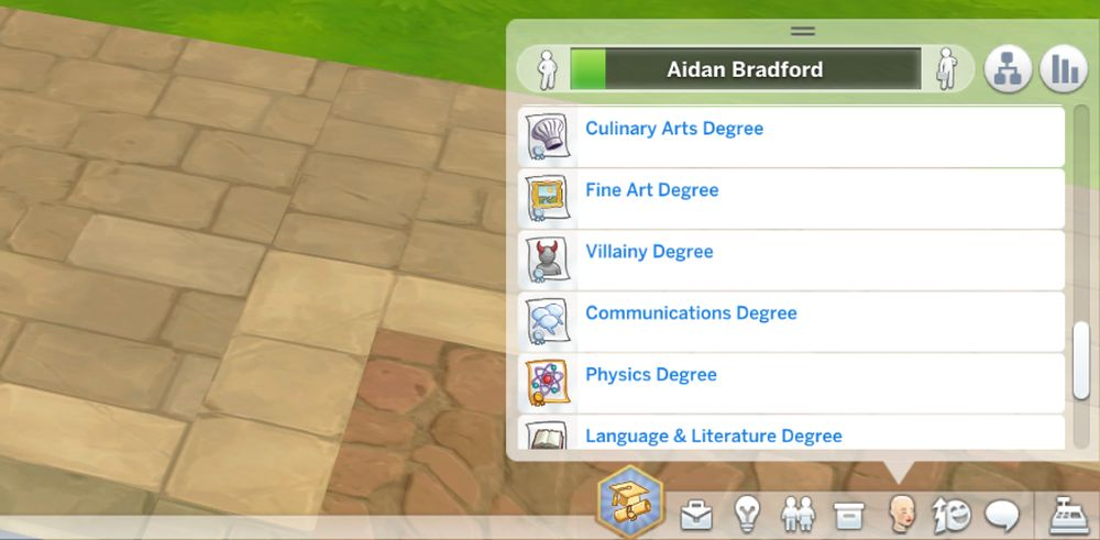 Award yourself all degrees in The Sims 4 Discover University with cheats