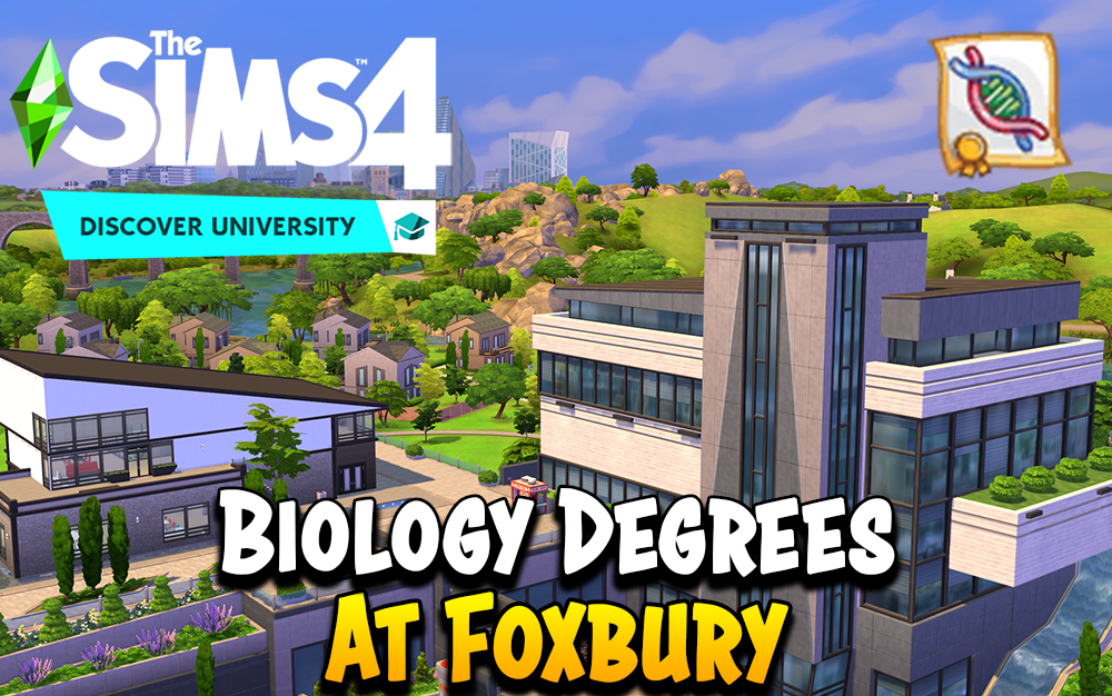The Sims 4 Biology Degree