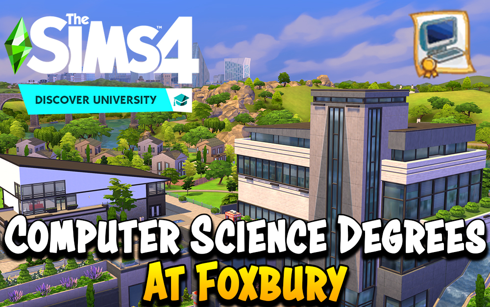The Sims 4 Computer Science Degree