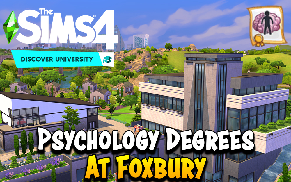 The Sims 4 Psychology Degree