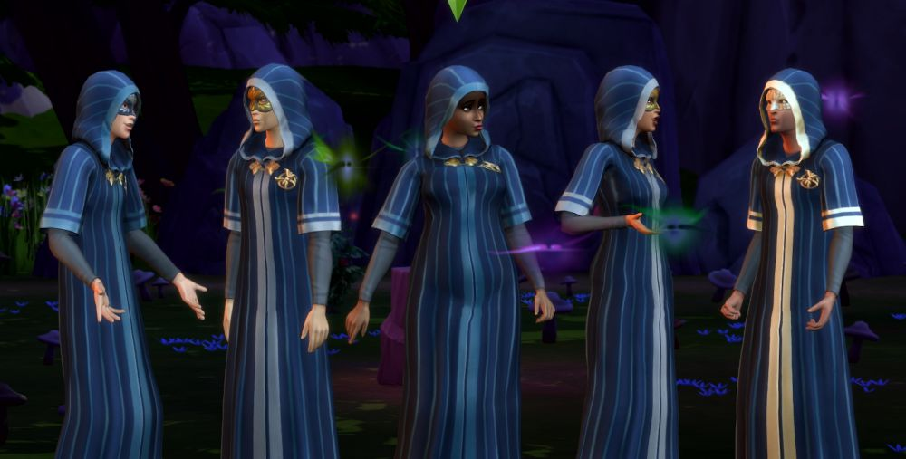 The Sims 4 Discover University: Sims in a Secret Society