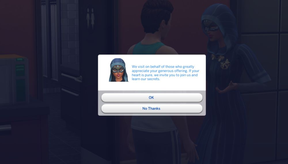 The Sims 4 Discover University how to join the secret society in the expansion