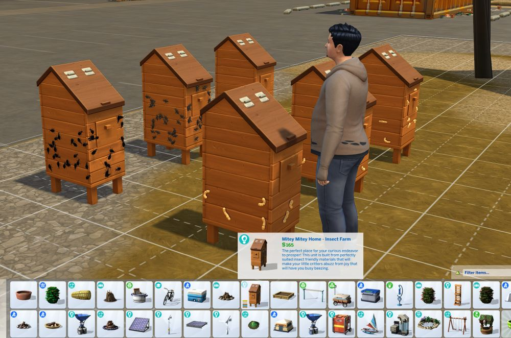 How to buy an insect farm in the Sims 4 Eco Lifestyle Expansion Pack