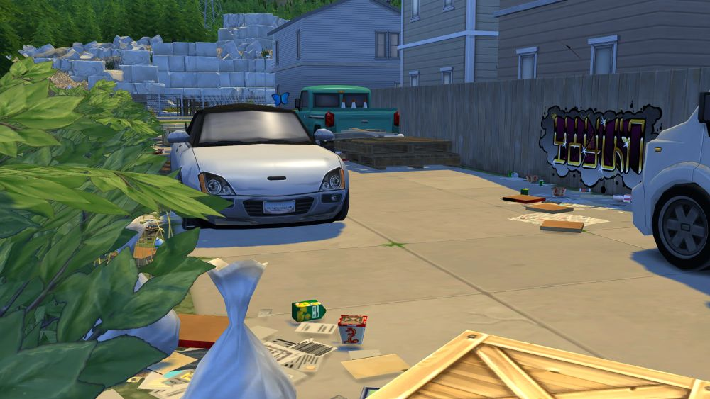 The Sims 4 Eco Lifestyle - Trash is totally unrelated to Eco Footprint