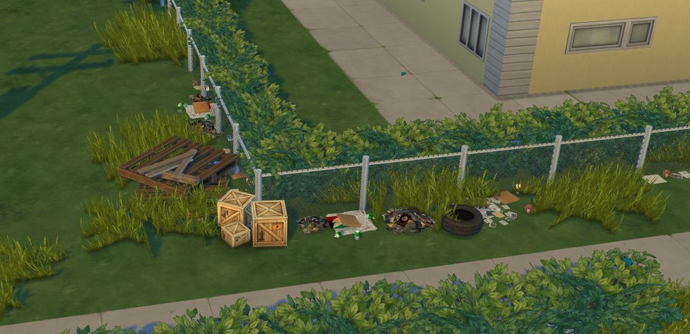 Clean up your neighborhood of Evergreen Harbor in The Sims 4 Eco Lifestyle