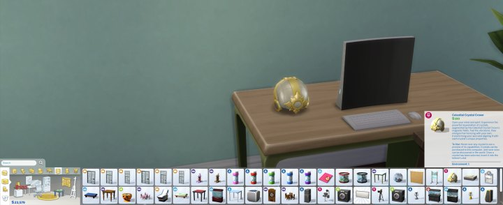 What does the crystal crown do in Sims 4