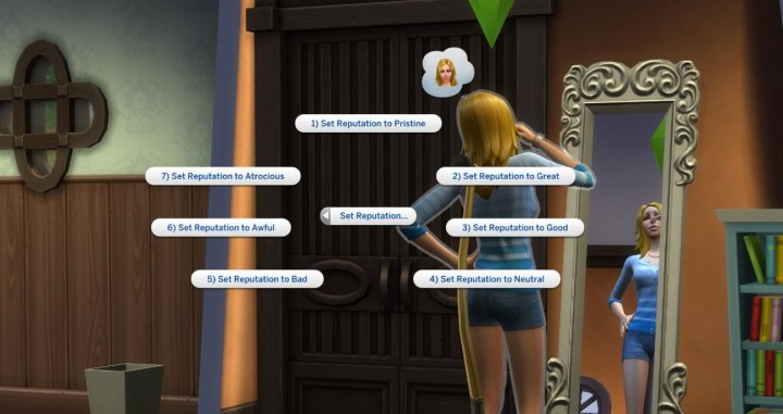 How to cheat your public image in The Sims 4 Get Famous Expansion