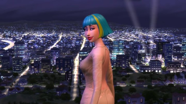 The Sims 4 Get Famous: The new town in the expansion