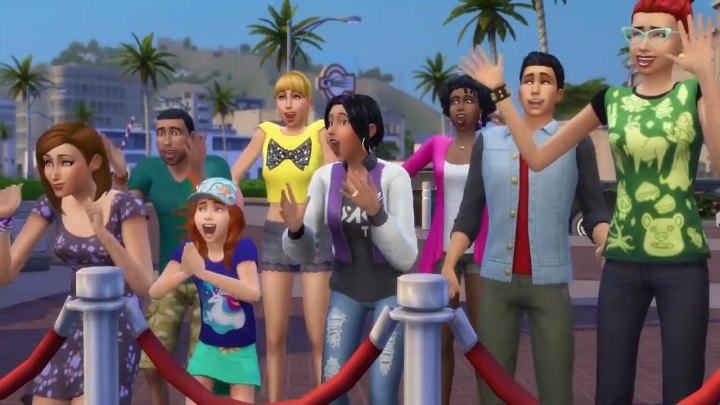 The Sims 4 Get Famous Expansion Pack: Fans Gather round a Celebrity