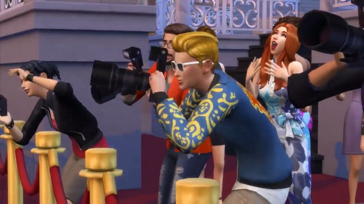 The Sims 4 Get Famous: Paparazzi
