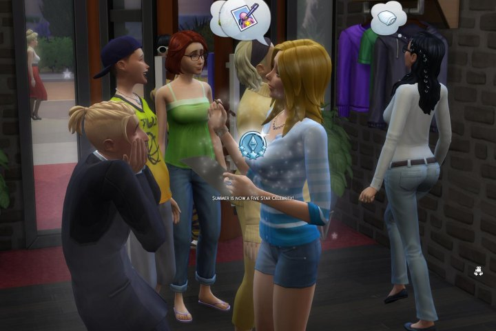 Sims 4 Get Famous Celebrity Star Rank Perks Amp Public Image