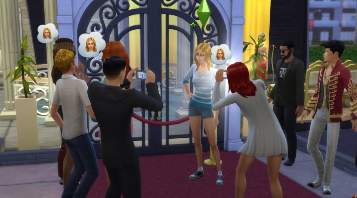 Paparazzi Darling Quirk in The Sims 4 Get Famous