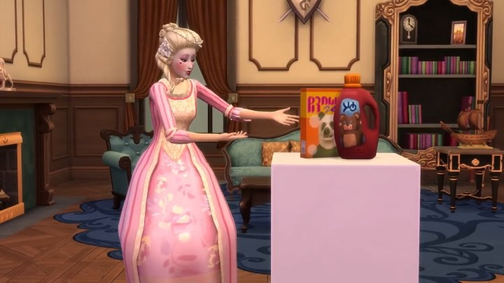 The Sims 4 Get Famous: shooting a commercial