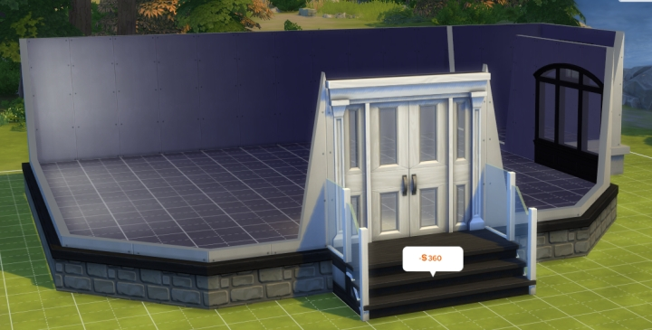 Building a nightclub in Sims 4