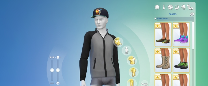 Club points let you unlock hats, jackets, accessories, and decorations.