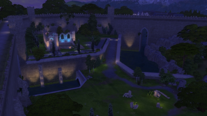The ancient ruins in Windenburg