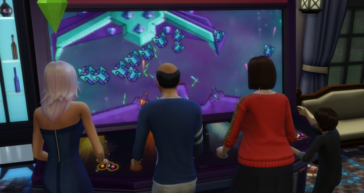 Arcade Machine in The Sims 4 Get Together