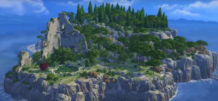 Windenburg in The Sims 4 Get Together Expansion Pack