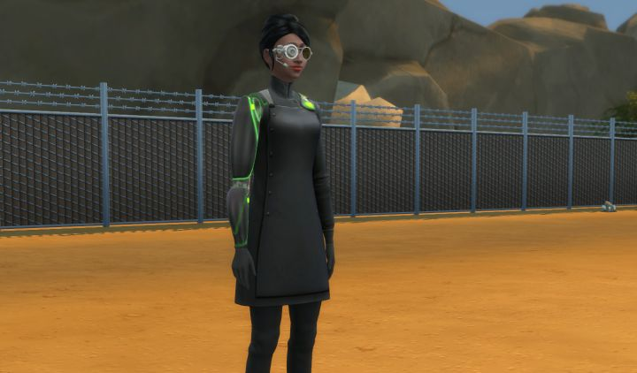 Sixam, the Alien World in Sims 4