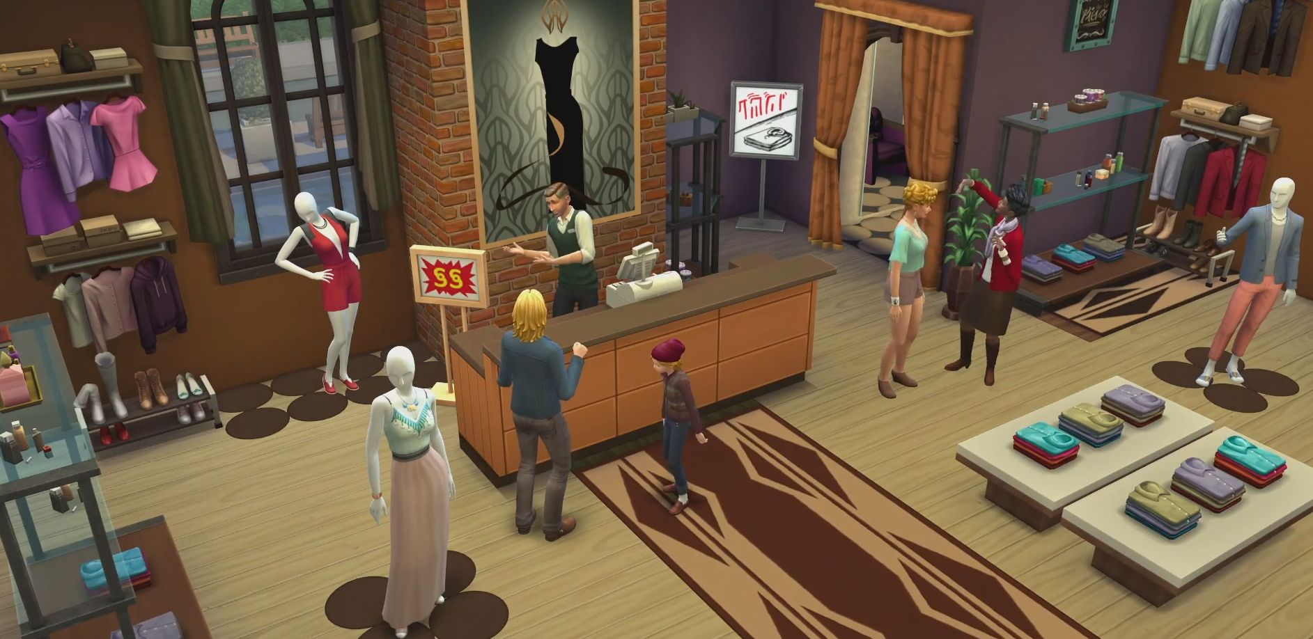 The Sims 4 Get to Work Expansion Pack
