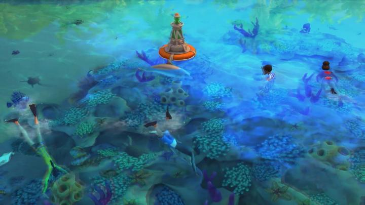 The Sims 4 Island Living - The reef is teeming with life