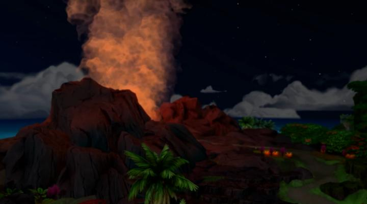 The Sims 4 Island Living volcanos can kill Sims