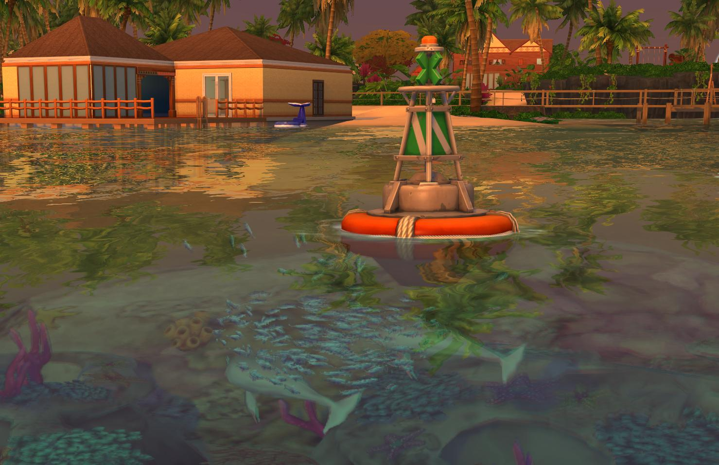 The new Conservationist Career in The Sims 4 Island Living