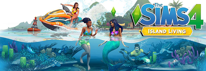 The Sims 4 Island Living Expansion